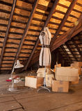 Grannys Attic   0210 Stock Photo