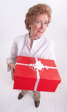 Grannys gift Royalty Free Stock Images
