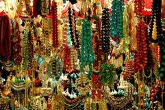Grano colorido en el bazar Foto de archivo