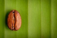 Grano de café orgánico del comercio justo Imagen de archivo