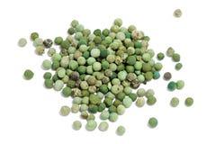 Grano de pimienta verde Fotos de archivo libres de regalías