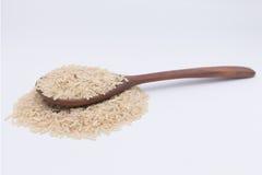 Grano del riso sbramato Immagine Stock Libera da Diritti
