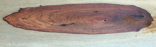 Grano di legno di Padauk Fotografia Stock