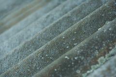 Grano di onda dell'ardesia il vecchio fondo d'annata, ardesia allinea nella prospettiva Fotografia Stock