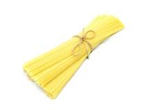 Grano entero de las pastas (espagueti) imágenes de archivo libres de regalías