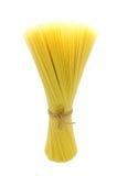 Grano entero de las pastas (espagueti) fotografía de archivo libre de regalías