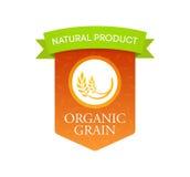 Grano orgánico natural Fotografía de archivo