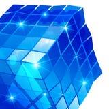 Grano plástico encariñado con el objeto geométrico tridimensional colorido libre illustration