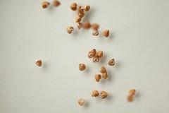 Grano saraceno, fondo dell'alimento Fotografia Stock