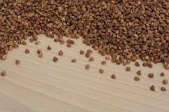 Grano saraceno sul bordo Fotografia Stock Libera da Diritti