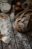 Grano-segale rustica del pane Immagine Stock