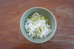 Grano tagliuzzato del riso Fotografia Stock