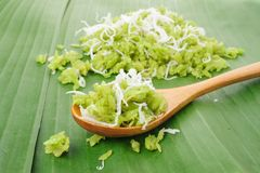 Grano tagliuzzato del riso Fotografie Stock Libere da Diritti