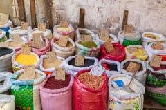 Grano y semillas a granel en China foto de archivo libre de regalías
