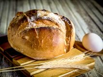 GRANODUR SEMOLA BALL II ITALIAN BREAD Royalty Free Stock Images