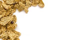 Granola που απομονώνεται στο λευκό Στοκ Εικόνα