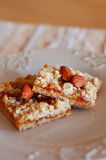 granola ράβδων βερίκοκων αμυγδά Στοκ φωτογραφίες με δικαίωμα ελεύθερης χρήσης