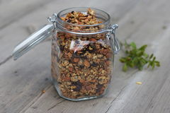 granola σπιτικό Στοκ φωτογραφία με δικαίωμα ελεύθερης χρήσης