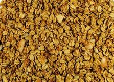 Granola. Closeup of granola for a background Stock Image