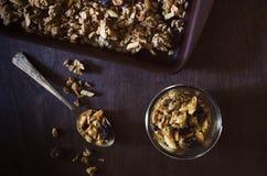 granola Στοκ εικόνα με δικαίωμα ελεύθερης χρήσης