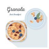 granola Στοκ Φωτογραφία