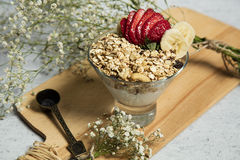 Granola photos stock