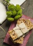 Granola Royalty-vrije Stock Afbeeldingen