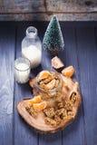 Granola avec la mandarine photographie stock libre de droits