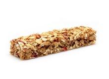Granola bar. Healthy granola bar on white background Stock Photo