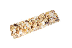 Granola bar isolated on white background Stock Image