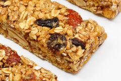 Granola Bars. At an angle Stock Photo