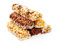 Granola bars Royalty Free Stock Images