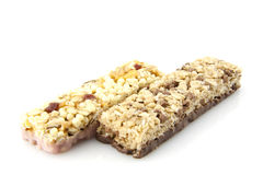 Granola bars Royalty Free Stock Photography