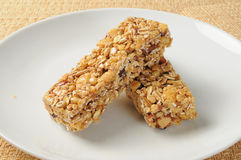Granola bars Stock Image