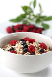 Granola with berries Stock Image