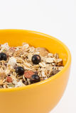 Granola in a bowl Royalty Free Stock Photos