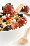 Granola bowl Royalty Free Stock Image