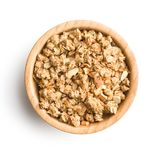 The granola breakfast cereals. Stock Images