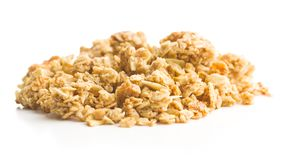 The granola breakfast cereals. Royalty Free Stock Images