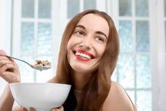Granola breakfast Stock Photos