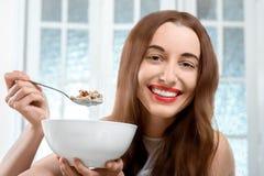 Granola breakfast Royalty Free Stock Image