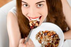 Granola breakfast Royalty Free Stock Photo