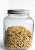 Granola caseiro da amêndoa do coco Imagem de Stock