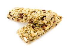 Granola chewy bar. Fruit and nut granola chewy bar Stock Image
