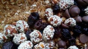 Granola del cioccolato Fotografia Stock