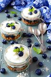 Granola desserts stock images