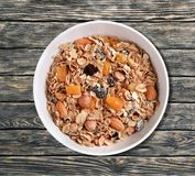 Granola do cereal Fotos de Stock Royalty Free