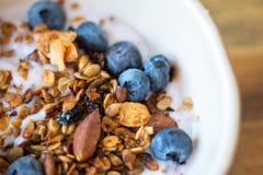 Granola et yaourt Image stock