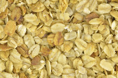 Granola flakes Royalty Free Stock Images