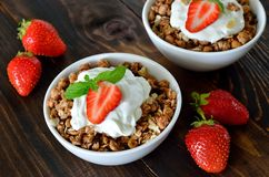 Granola Royalty Free Stock Photo